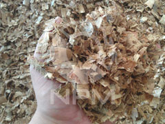 1 ton complete wood pellet line in Thailand